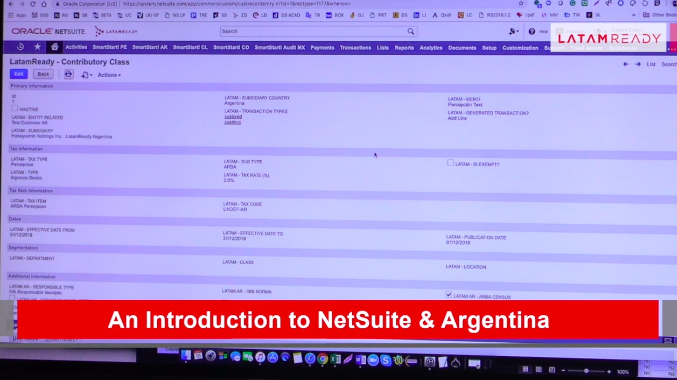 An Introduction To NetSuite & Argentina | LatamReady